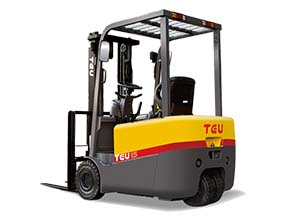1.5-2.0T Electric Three-wheel Forklift Truck